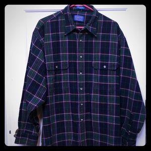 Men's Pendleton 100% cotton flannel size XL
